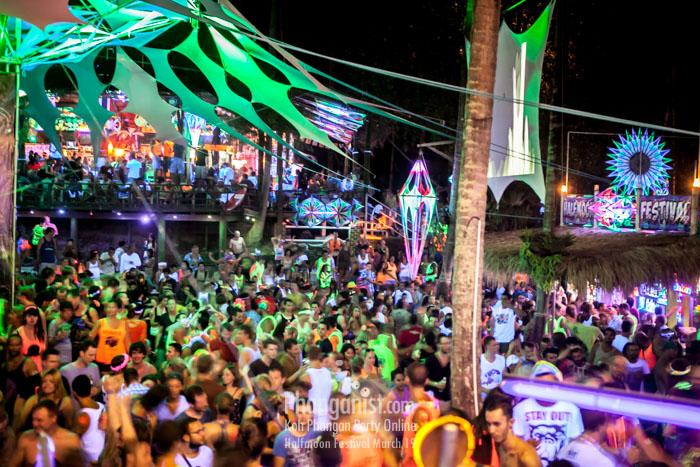half moon party festival party package accommodation resort all you need