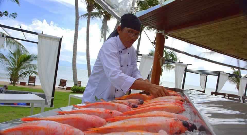 Seafood on Koh Phangan