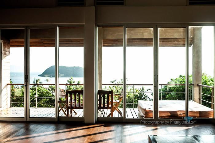 villa for rent, rent, house for rent, booking, sea view villa,  sri thanu, phang