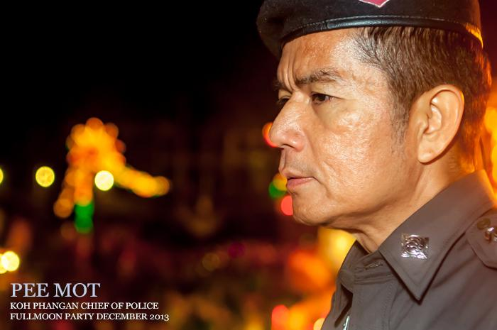 movie, video, film, police chief, koh phangan, pee mot, khun mot, full moon, foo