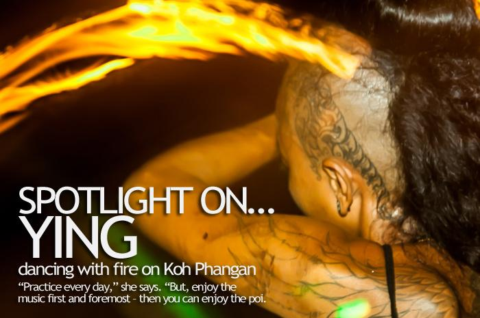 ying firedancer jungle performer party phangan
