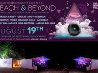 ku club, beach and beyound, electronic venue, tech house, party, phangan, featur
