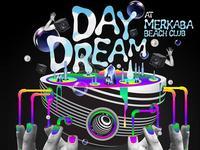 Day Dream launch party at Mer Ka Ba Beach Club Koh Phangan