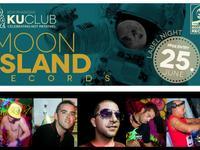 Moon Island Records at Ku Club thong sala koh phangan