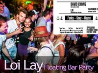 loi lay, floating boat, party, electronic venue, phangan, featured