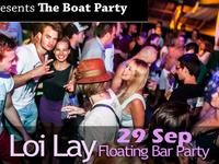 Loi Lay, floating bar, party, tech house, phangan, featured