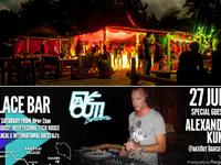 the place, bar, techno, party, phangan, acrobat, alexander kumm, featured