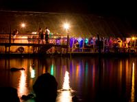 loi lay, party, phangan, tech, house, floating boat, news