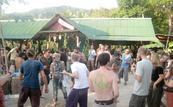 guys bar phangan party