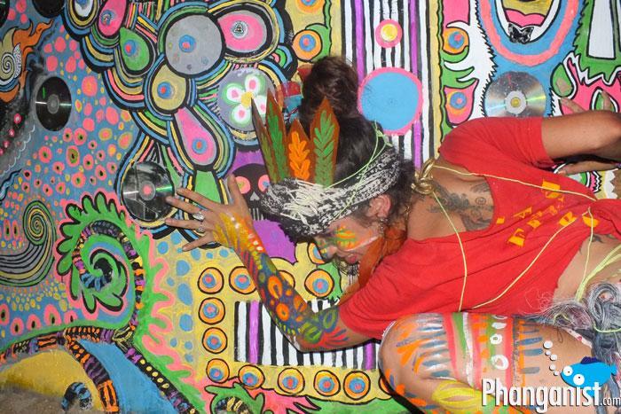 jungle experience koh phangan ban tai andrea luana art