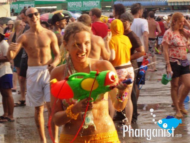 SOngkram festival Koh Phangan photo album