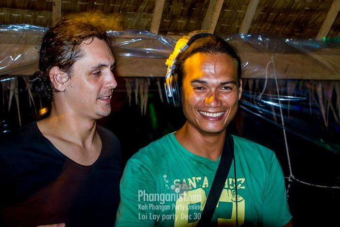 dj darregh party phangan loi lay