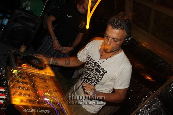 DJ Jourdan Bordes at Loi Lay party Koh Phangan