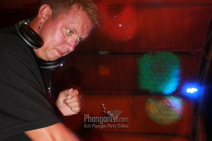 DJ Alpha at the Jungle Experience Party Koh Phangan