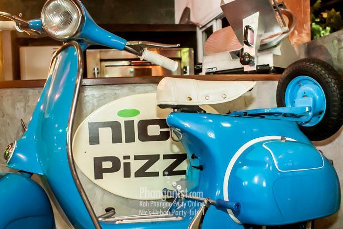 nics urban party restaurant pizzaria tech house venue phangan