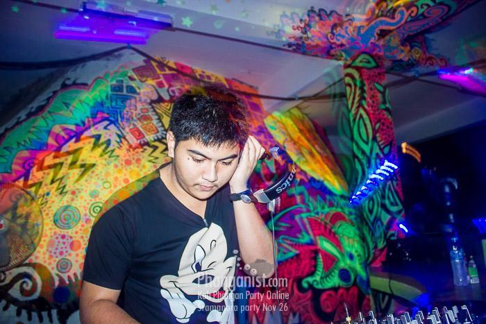 dj bank sramanora party phangan