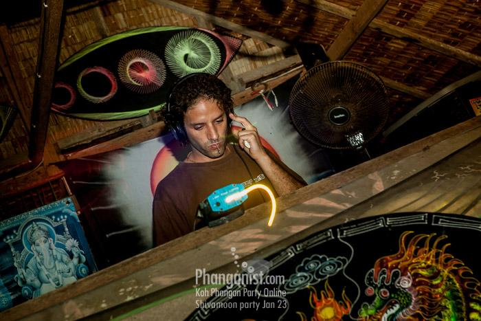ital dani dj shiva moon party phangan