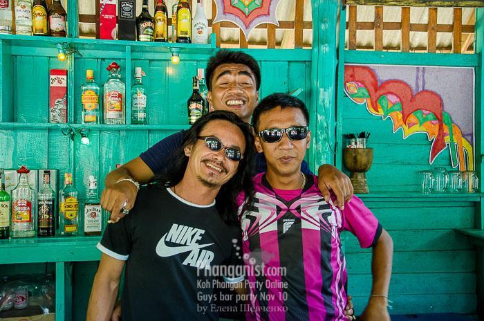 guys bar koh phangan party