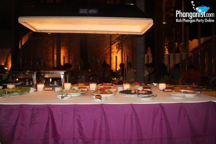 Bay Lounge Saturday buffet Koh Phangan