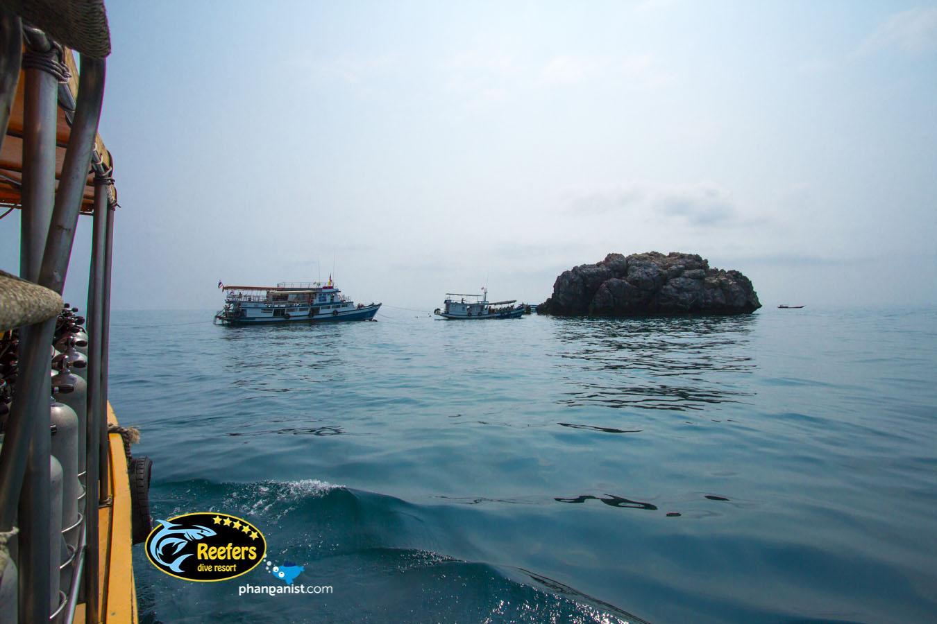 Sail Rock Dive Site