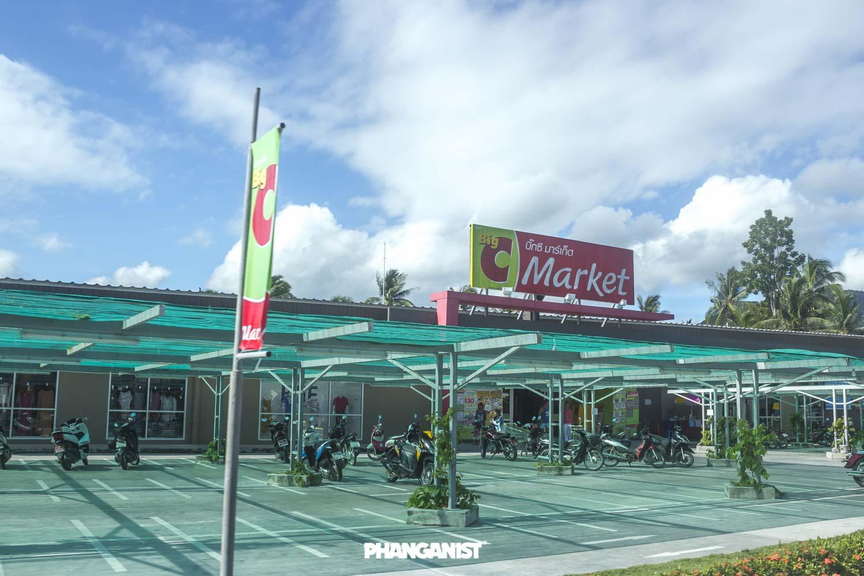 Big C Supermarket Koh Phangan