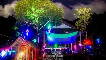 sramanora waterfall peter g marcus empro nakadia dj party phangan