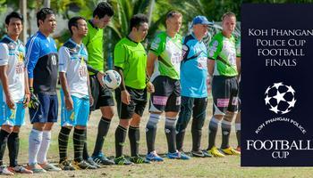 koh phangan police football cup