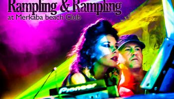danny rampling, Ilona rampling, dj, tech, house, party, phangan, merkaba beach c