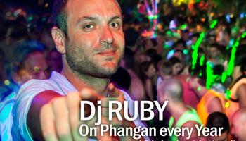 dj ruby jungle experience party phangan
