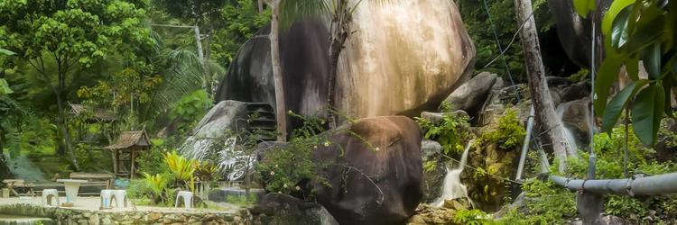 Sramanora Waterfall Ban Kai Koh Phangan